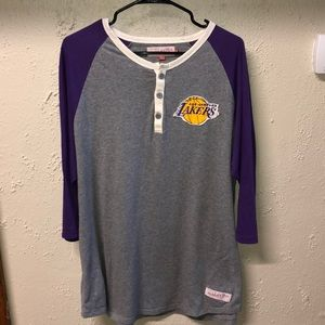 Los Angeles Lakers Mitchell & Ness Retro Tee